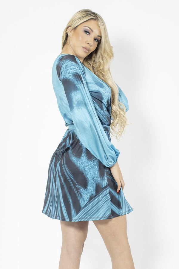 Baccio Mimi Long Sleeve Mini Dress