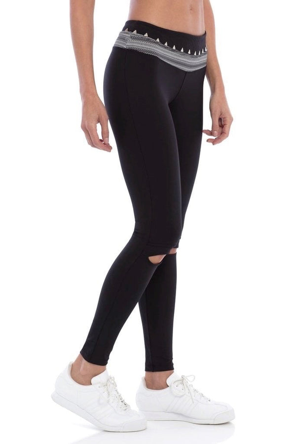 Track & Bliss Triangle Studded Leggings