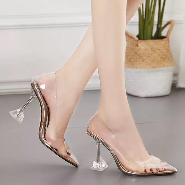 Jessica Bara Joudie Pointed Toe Clear Heels