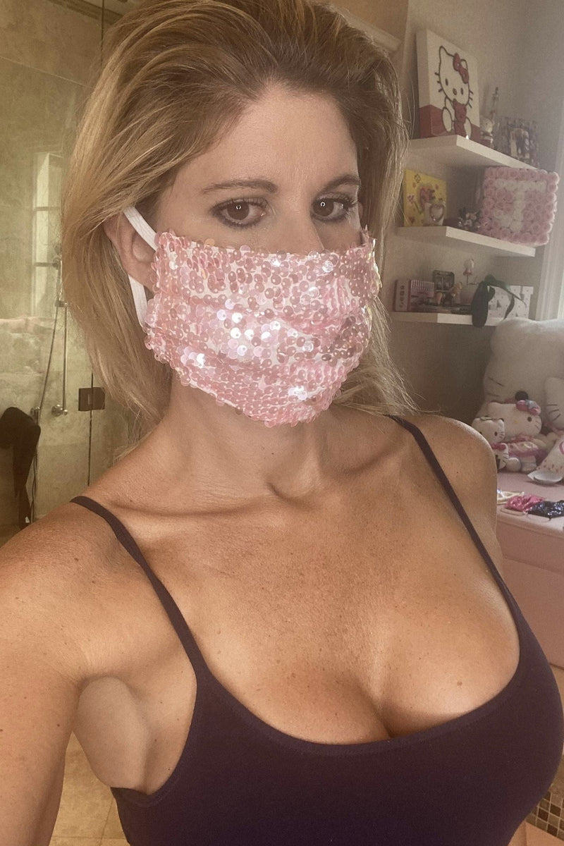 Bell Beachwear Protective Sequin Face Masks