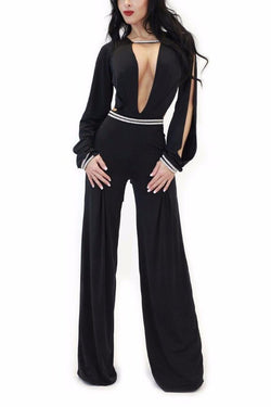 Jumpsuit - Vie Sauvage Black Crystal Jumpsuit