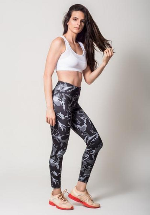 Leggings - Active Fit Camouflage Legging