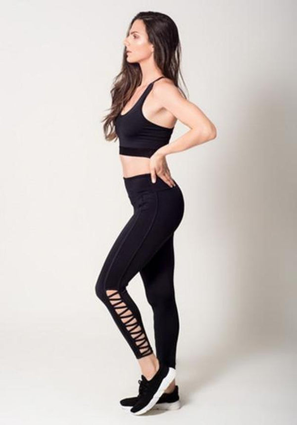Leggings - Active Fit  CrissCross Legging