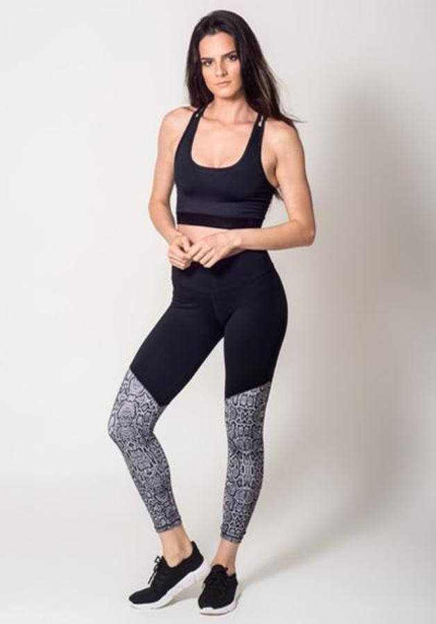 Leggings - Active Fit  Duo Snake Legging