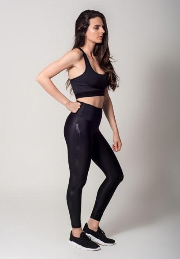 Leggings - Active Fit  Lightning Bolts Legging