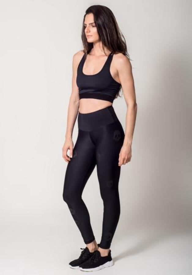 Leggings - Active Fit Skulls Legging