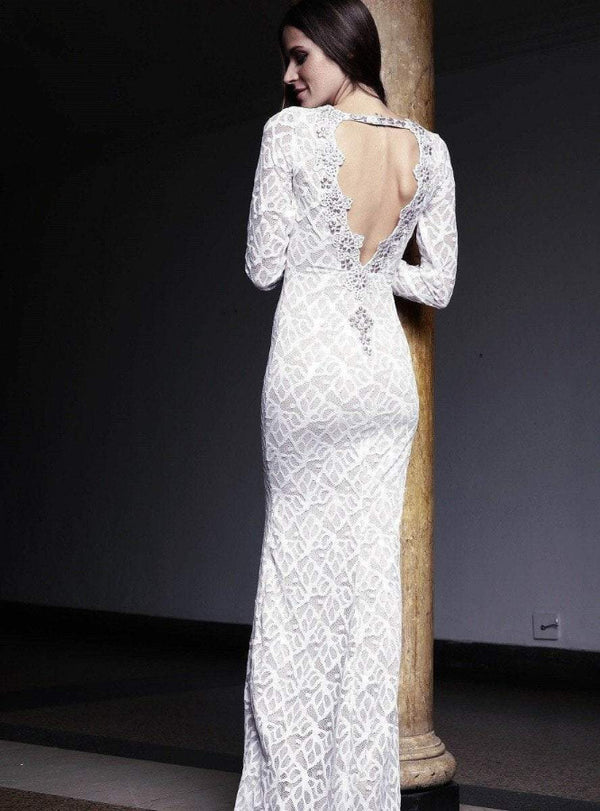 Root Catalog - Baccio Letty Painted Lace Long Dress