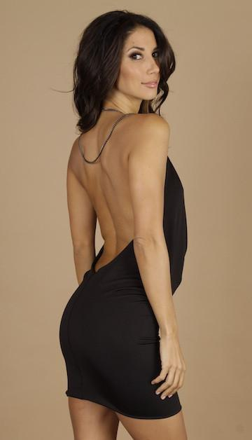 Root Catalog - Leiluna Backless Chain Dress