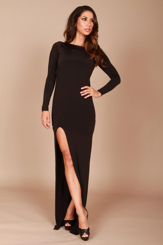 Root Catalog - Leiluna Backless Gown With Split