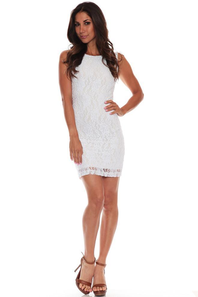 Root Catalog - Leiluna Backless Lace Dress