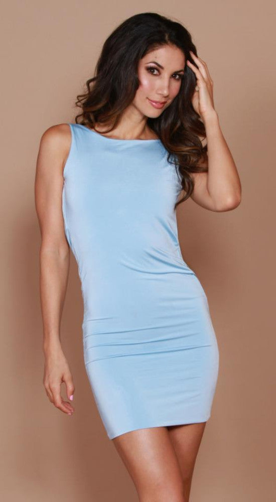 Root Catalog - Leiluna Sleeveless Classic Backless Dress
