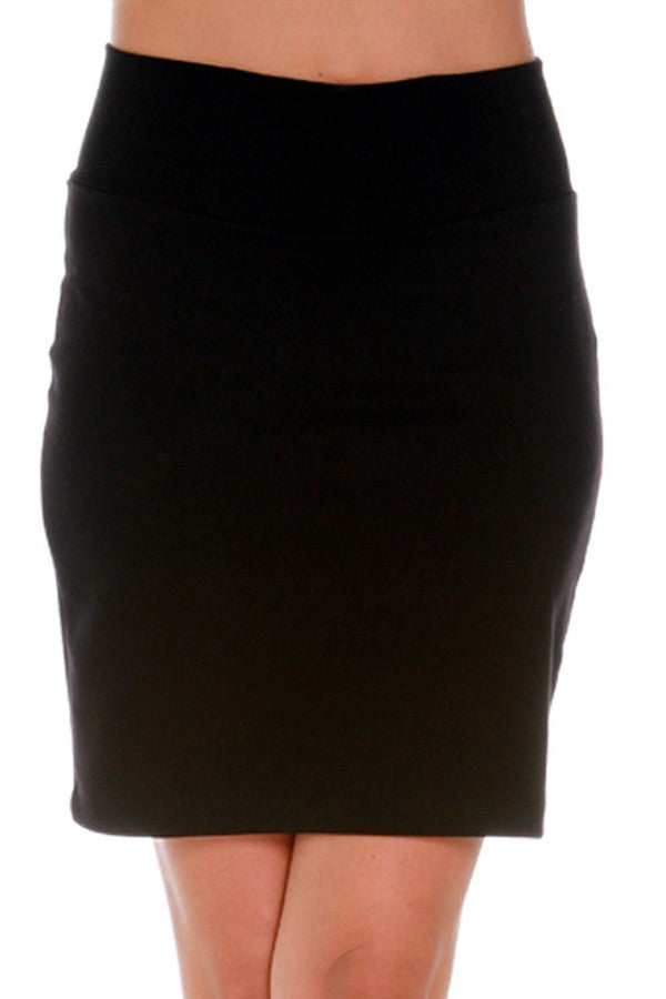 Root Catalog - Only Hearts Cotton Stretch Mini Skirt