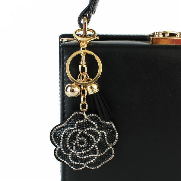 Halsey Rose Rhinestones Key Chain