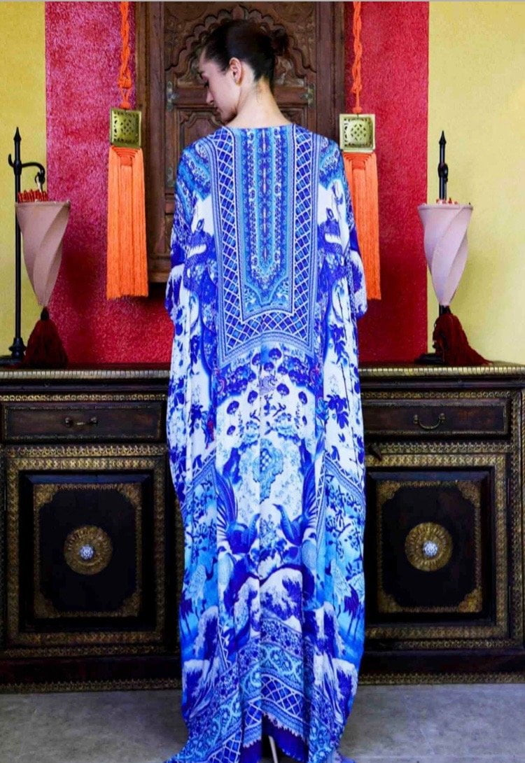 Shahida Parides Chinoiserie Tunic Dress