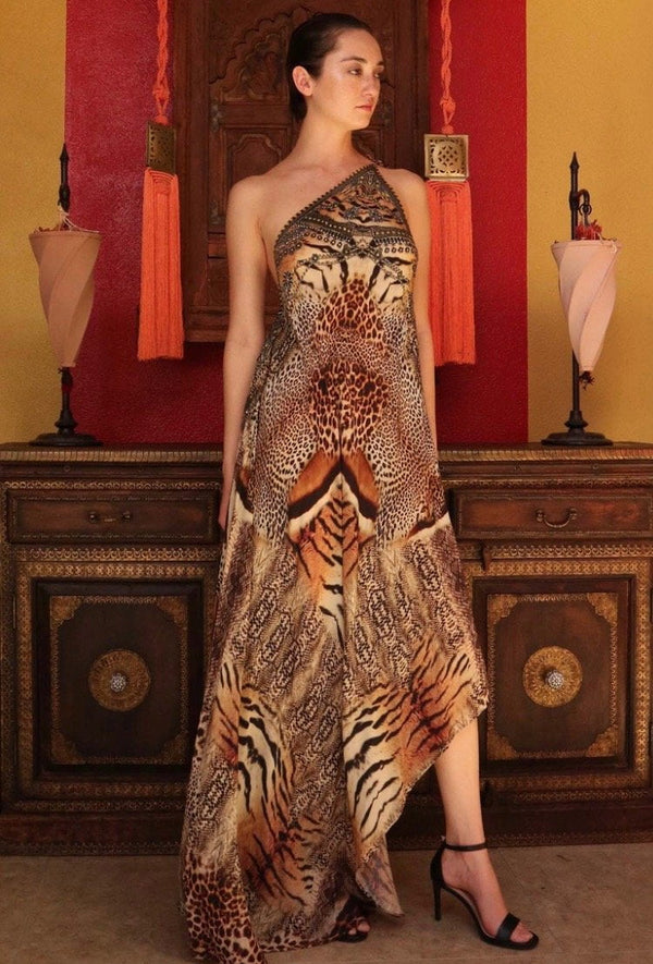 Shahida Parides Safari Long Dress