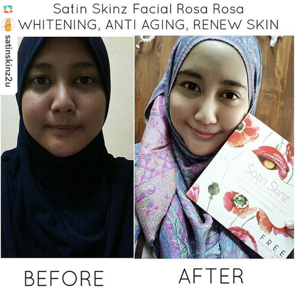 Satin Skinz Rosa Rosa facial set!!!