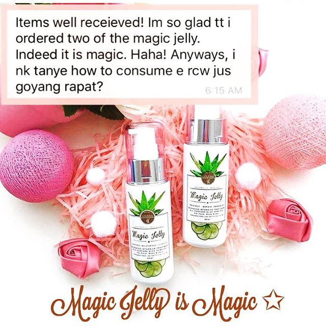 If you feel Giving up on your skin...Try Magic Jelly !