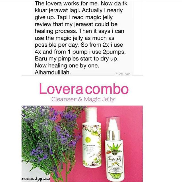 Eliminate your pimples problem with Lovera Combo!