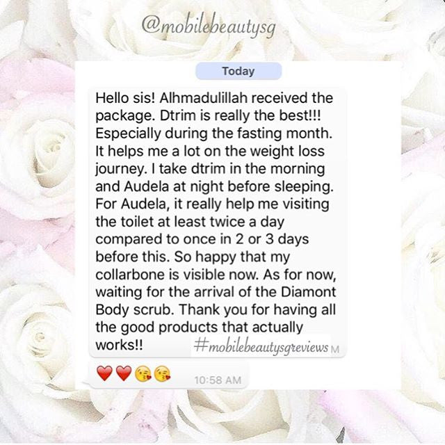 Audela & Dtrim great combination to lose weight !