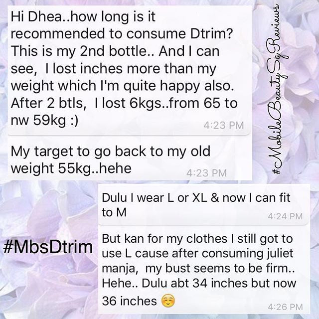 Dtrim helps you to achieve your desired weight!