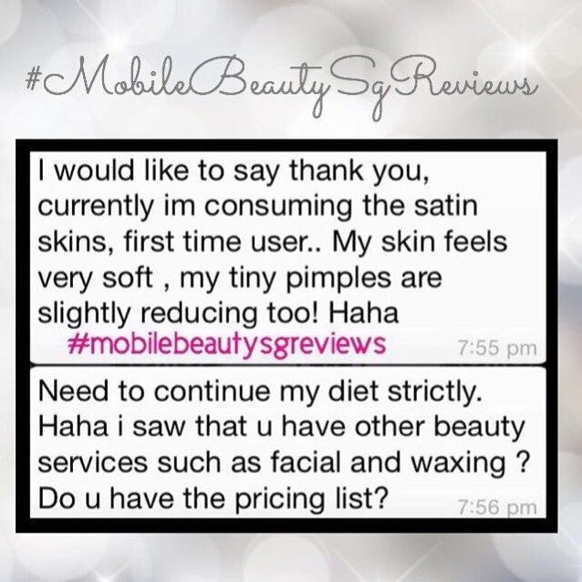 SatinSkinzGluta easy way to get read of annoying pimples!