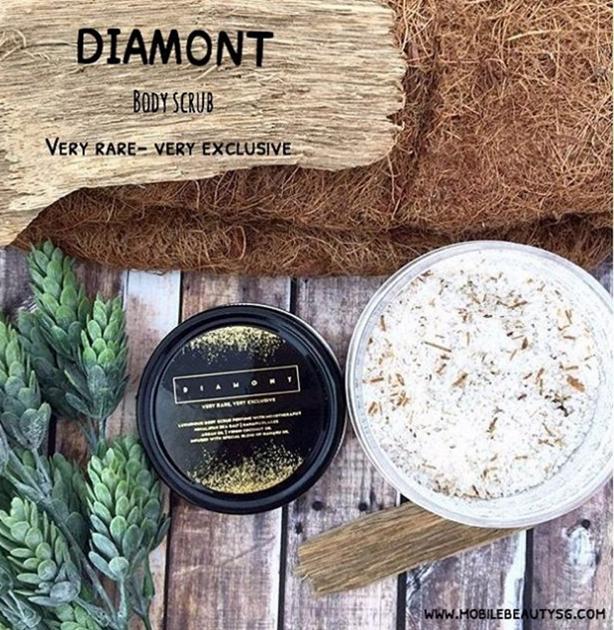 DIAMONT Body Scrub very rare very exclusive !