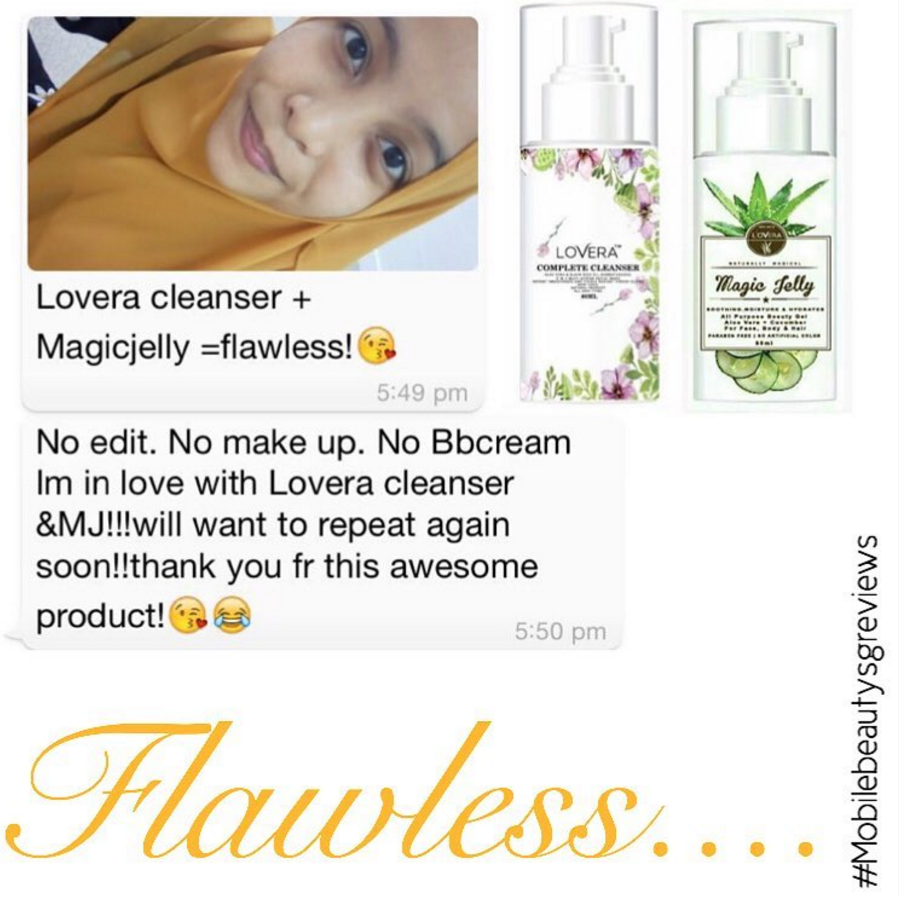 Review on Magic Jelly & Lovera cleanser