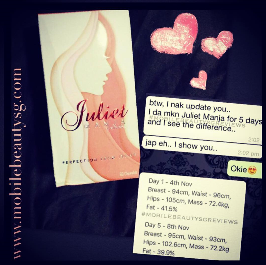 5 days of Juliet Manja only !