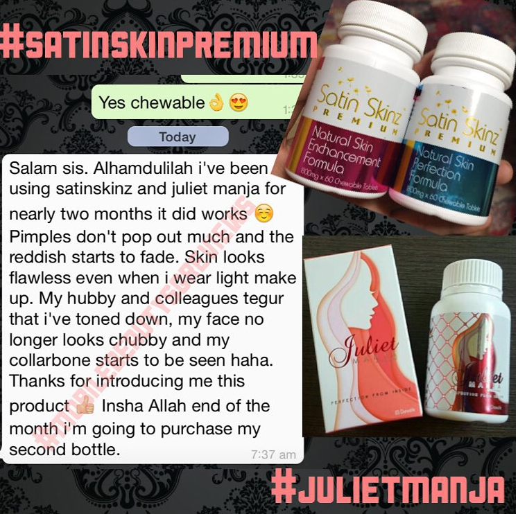 An other nice review for satinskinzpremium and Juliet Manja products