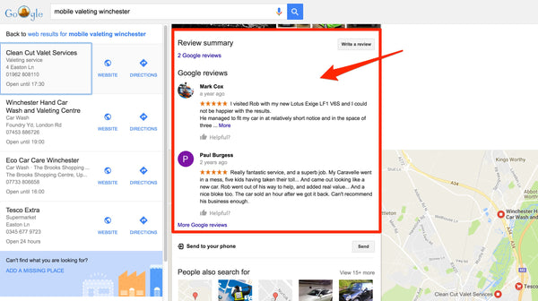 How to get more reviews on your Google My Business Profile