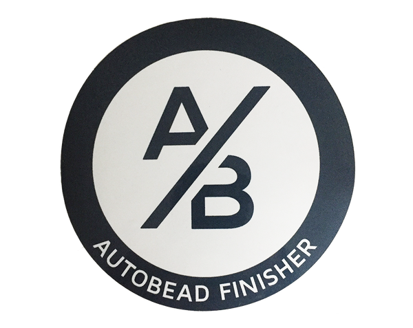 AutoBead Finisher Sticker