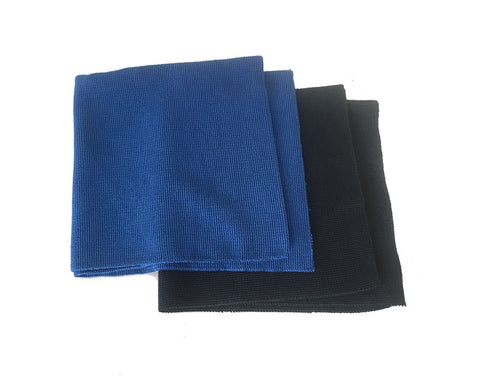 PREMIUM SEAMLESS MICROFIBRE CLOTHS - PACK OF 8