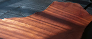 Our premium Vegetable tanned leather -