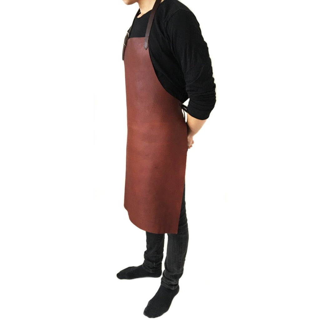 Karu Atelier | Classic Leather Apron | www.karuofficial.com