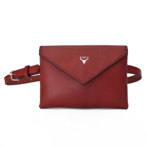 Envelope Belt Bag | Burgundy