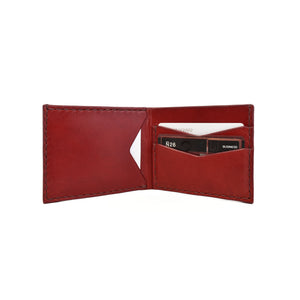 Bifold Wallet | Burgundy