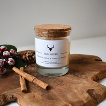 Load image into Gallery viewer, Soy Wax Candle | Cinnamon, Clove & Orange