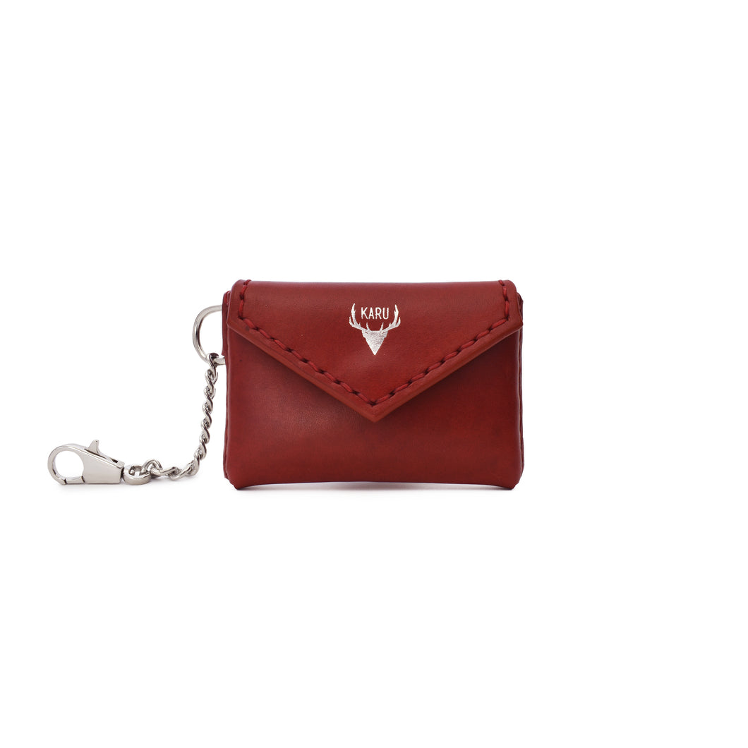 Envelope Card Pouch | Burgundy