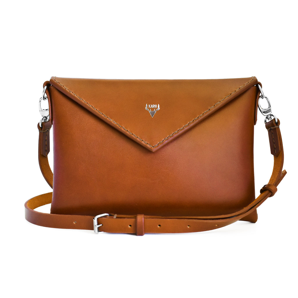 Envelope Bag | Cognac
