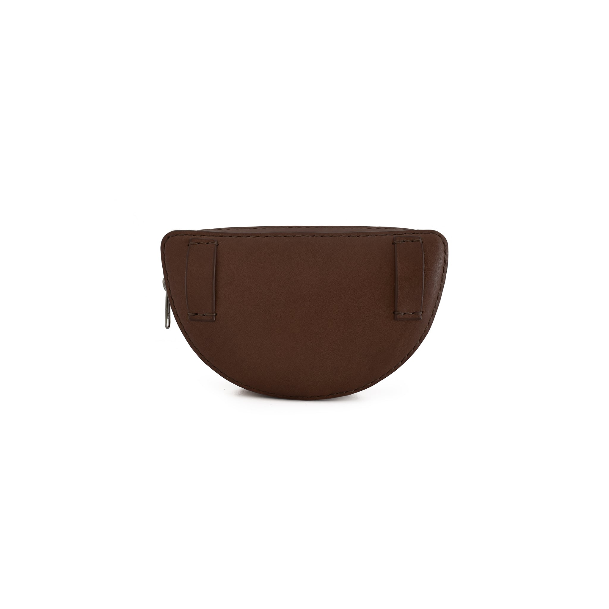 Half Circle Belt Bag | Dark Brown
