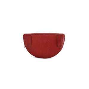 Half Circle Belt Bag | Burgundy