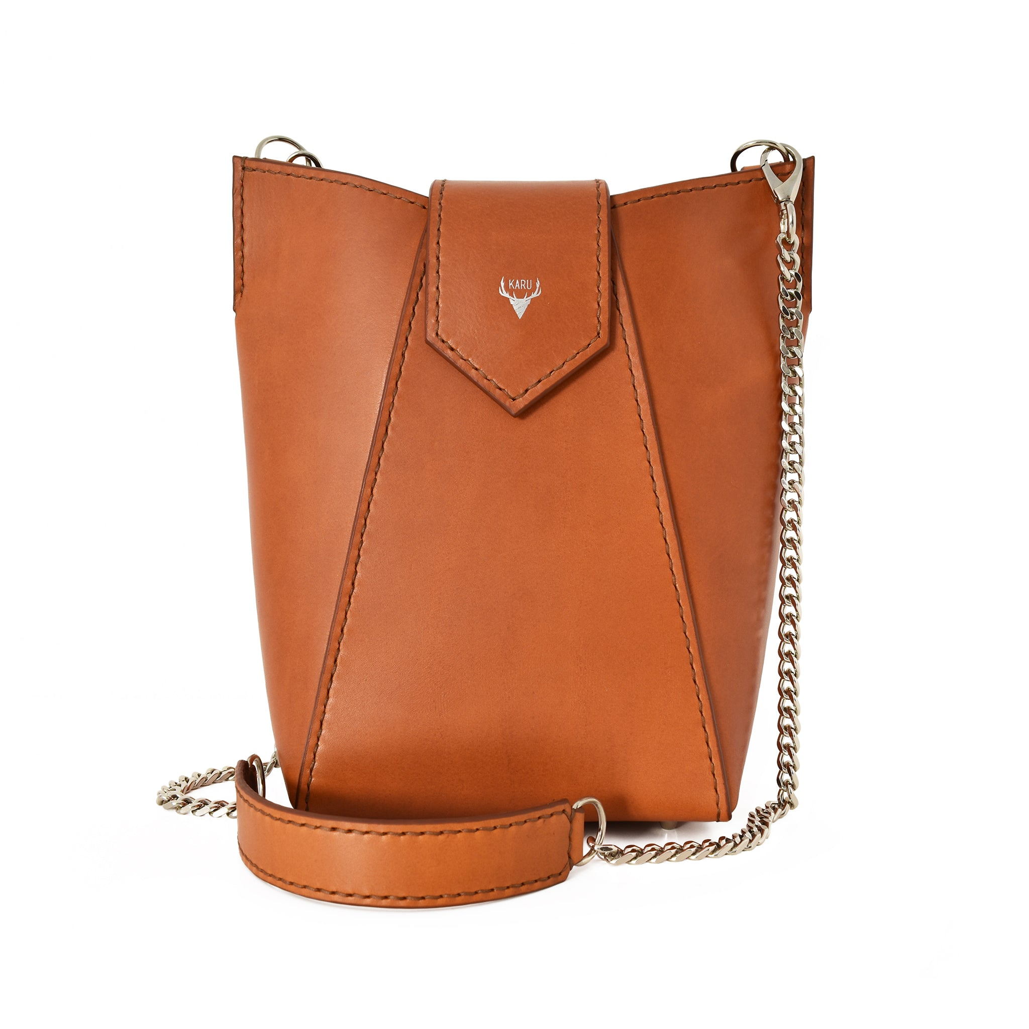 Large Kielo Bag | Cognac