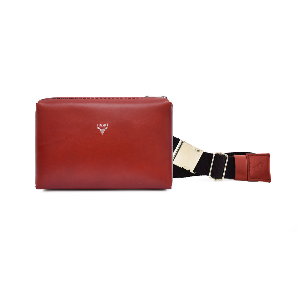 Belt Bag | Burgundy