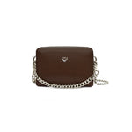 Karu Atelier | Micro Chain Fold-over in Dark Brown | Front