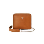 Mini Fold-Over Satchel | Cognac