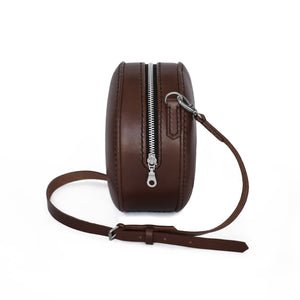 Round Bag | Dark Brown