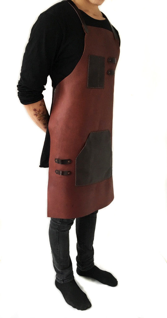Signature Leather Apron full body