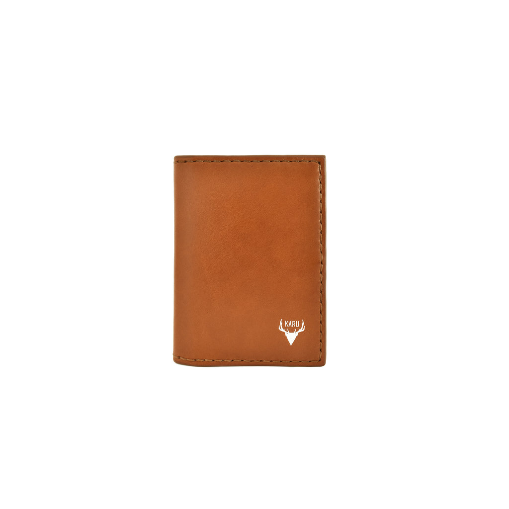 Travel Wallet | Cognac