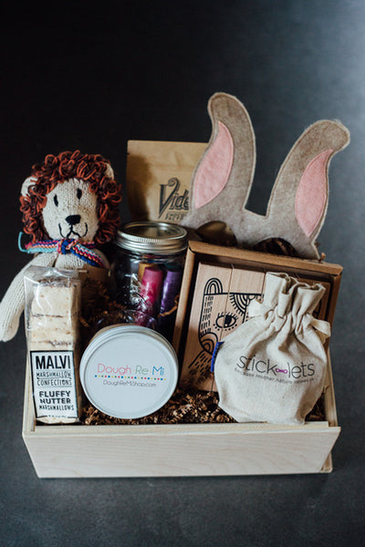 "Twine & Twig Collab - ""Little Bud"" Boys Gift Box"