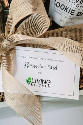 Living Kitchen & Bonnie + Bud Collaboration